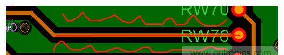 高速信号回流环路实际走线分析