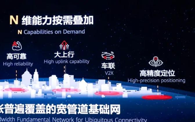 """华为发布了支撑""""1+N""""的5G全系列解决方案"""