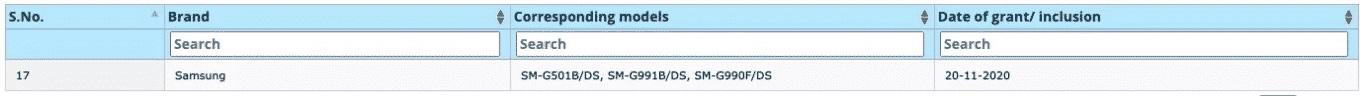 三星Galaxy S21手机通过印度标准局认证