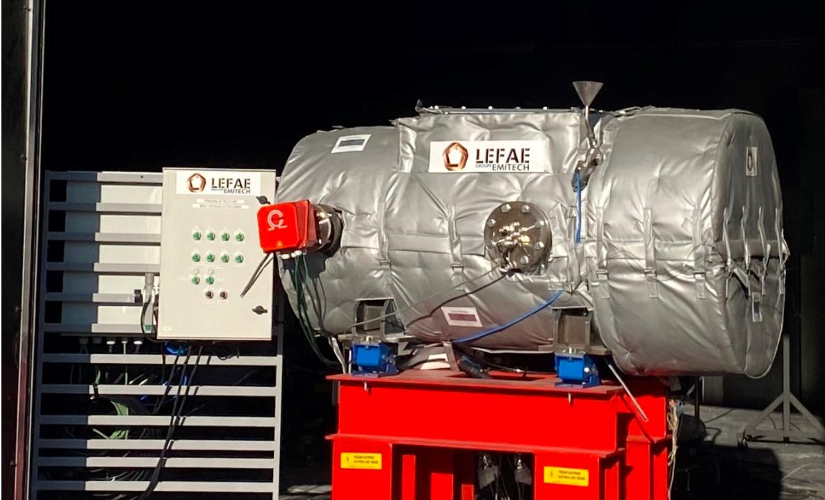 Lefae獲得爆炸性環境測試資質認定