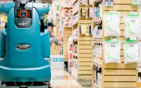 零售行业移动机器人加速落地