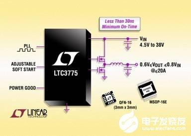 DC/DC开关稳压控制器LTC3775的主要特性及功能分析
