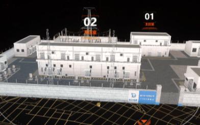 以电力牵引站为例,介绍变电站可视化系统