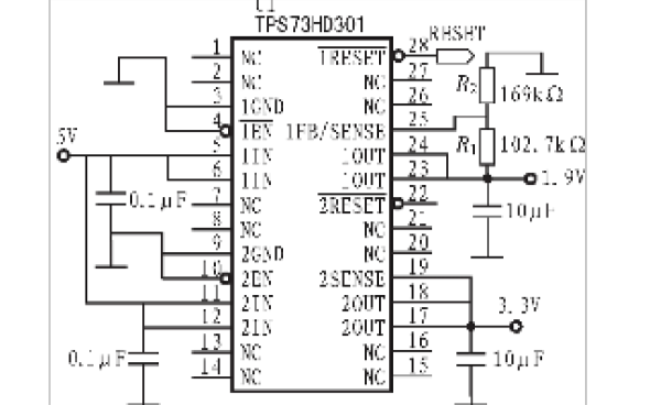 TMS320F28335单片机的介绍和组成最小应用系统的设计说明