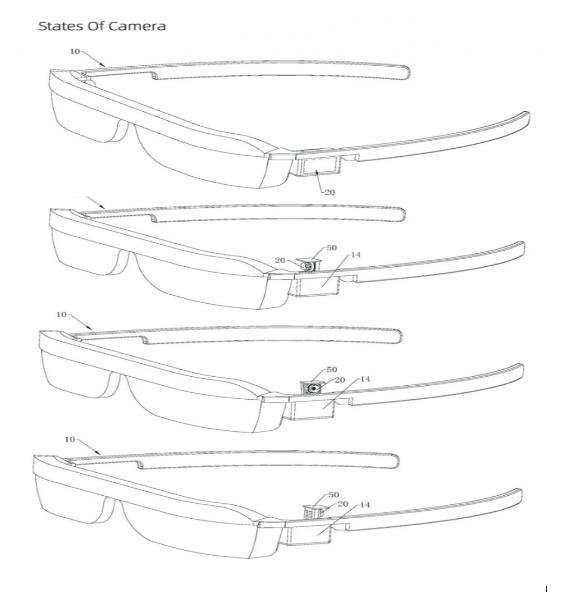 華為AR智能眼鏡或將使用彈出式攝像頭