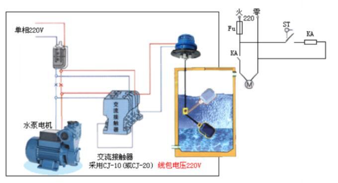 水泵控制器如何接线_水泵控制器接线方法