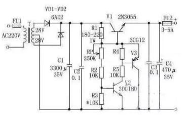 稳压电源和开关电源的电路分析