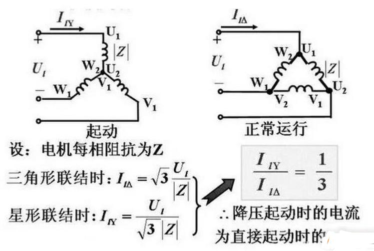 星三角手动自动的原理_星三角接线图及原理