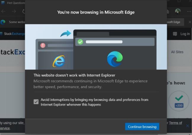 微软将下手封杀IE,全力发展Edge浏览器