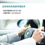 ams推出符合汽车级认证的电容传感器:AS8579