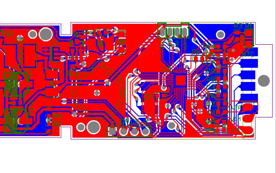 合泰BH67F2742额温枪的PCB原理图免费下载