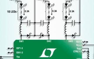 Linear DC/DC转换器LT3492的优势...