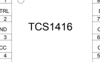TCS1416 Type-C接口芯片的性能特點及應用範圍