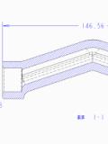 经典的弯管模具设计图解 滑块两次抽芯步骤