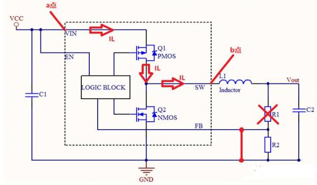 降压芯片Rdson常用测量方法的介绍