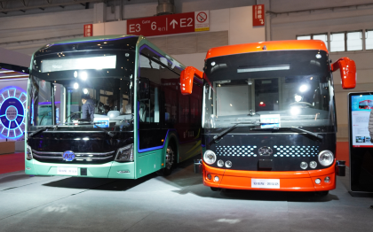 高端智慧公交E9首发亮相