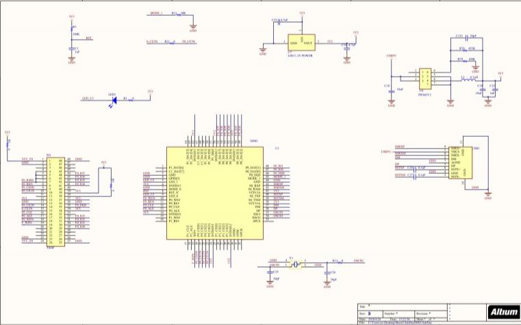 IS903电路原理图和PCB免费下载