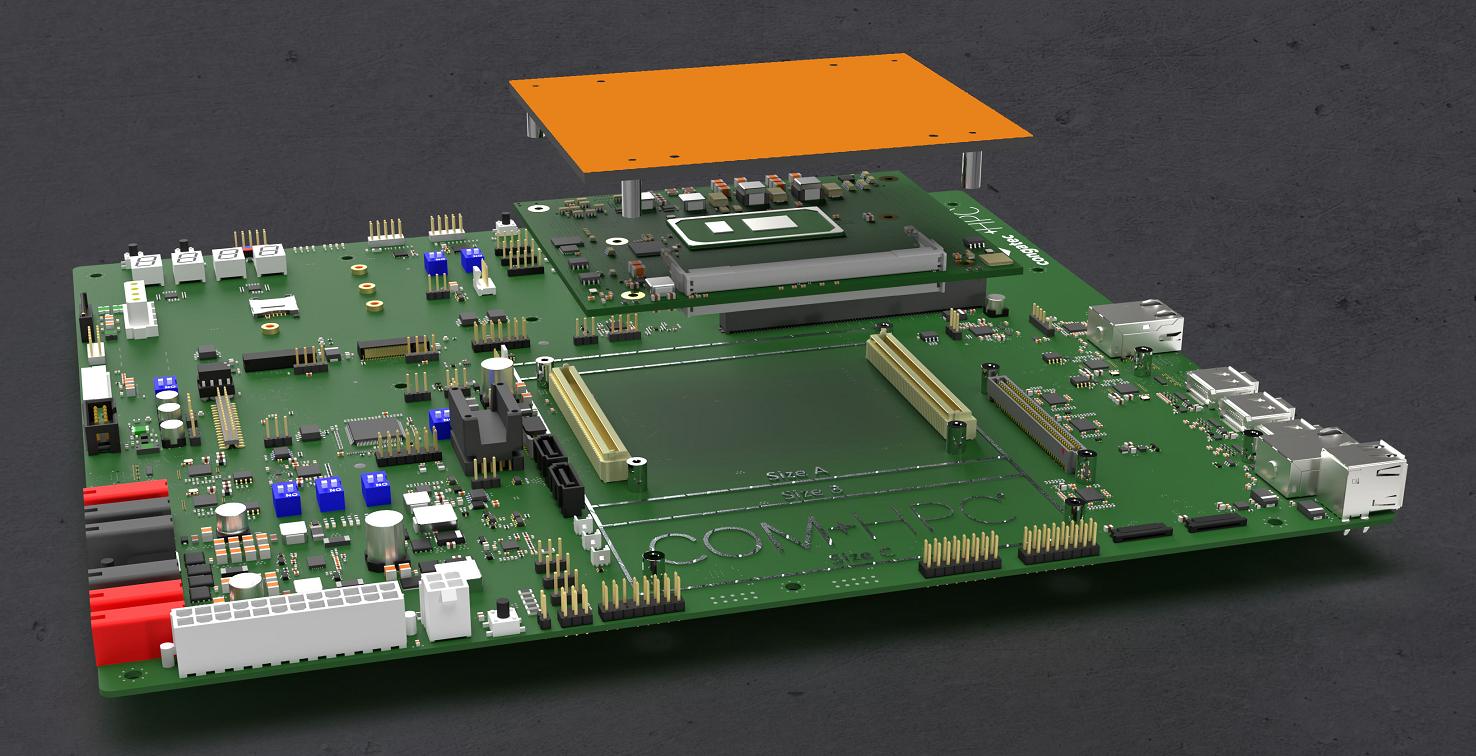 康佳特推出COM-HPC新生態系統 COM-HPC集成的重要里程碑