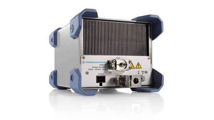 罗德与施瓦茨推出新系统放大器,提供优异的微波功率...