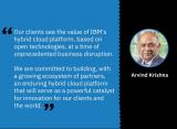 IBM:构建持久的混合云平台,推动世界创新