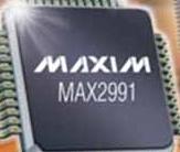 集成模拟前端MAX2991的功能特点及适用范围