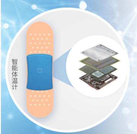"""全球最小、最精准的""""腋下创可贴""""的可穿戴式体温计"""