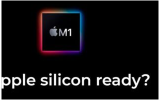 苹果公司最近推出了第一批带有M1芯片的产品