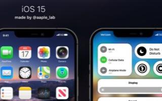 苹果实验室分享了一个新的iOS 15概念