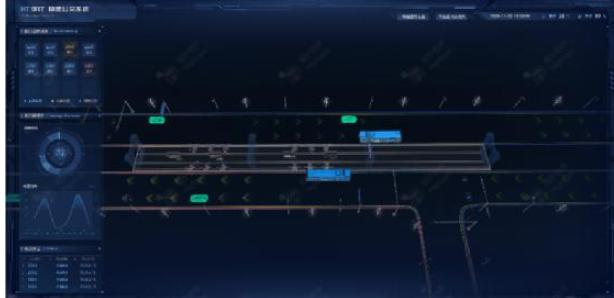 HT BRT快速公交系统3D可视化预览分析
