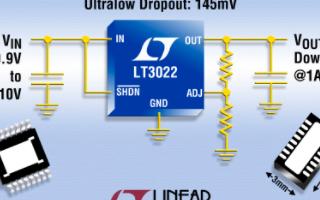 低压差线性稳压器LT3022的功能特点及应用范围