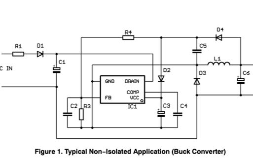 實現高擊穿電壓和低待機電流離線輔助PSU電源裝置