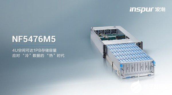 浪潮服务器NF5476M5推出,极致化设计为温冷数据场景而生
