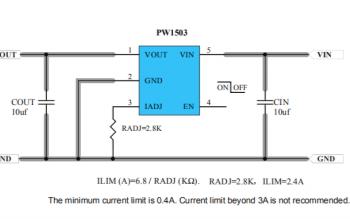 USB口3A限流保护芯片PW1503的数据手册免费下载