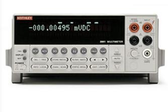 吉时利2001 7位半数字多用表的特点及功能应用