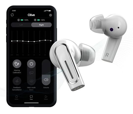 Olive Pro将推出真无线耳机+助听器二合一的设备