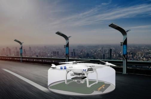 蕊磁隔空無線充電技術在無人機的應用