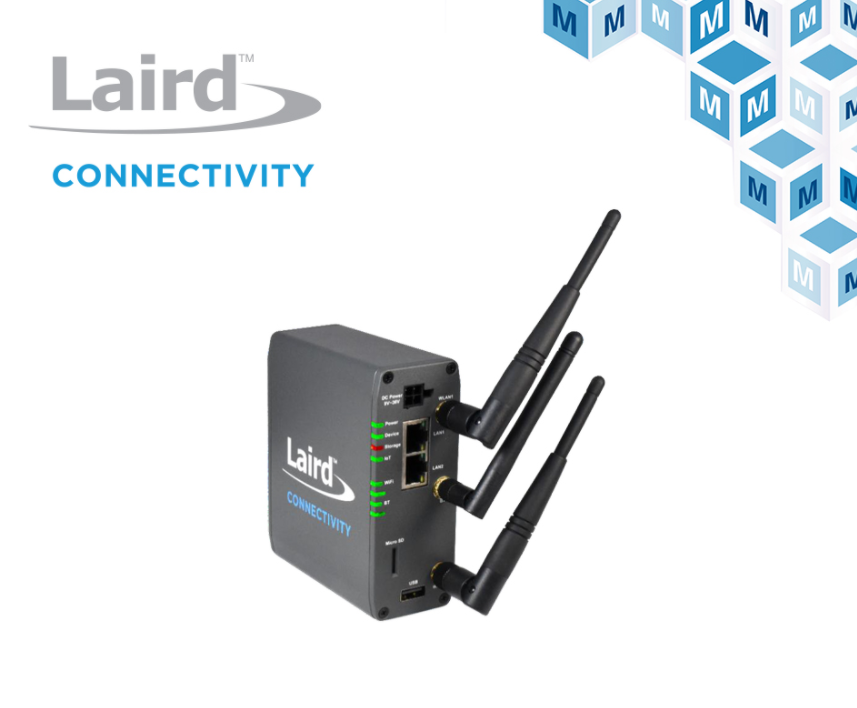 贸泽电子开售Laird Connectivity用于智能楼宇的Sentrius IG60-BL654-LTE无线物联网网关