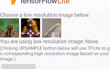 如何使用TensorFlow Hub的ESRGAN模型来在安卓app中生成超分图片