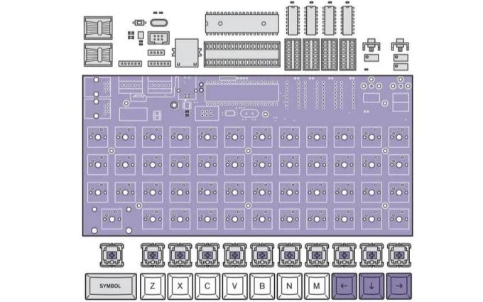 如何使用6个芯片实现组装一台计算机