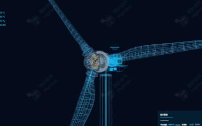 图扑3D 网络可视化监控新模式应用于风力发电