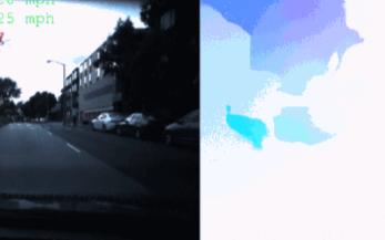使用光流 + CNN的方法来预测车辆的速度