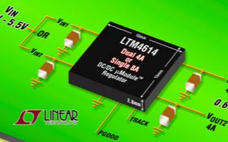 DC/DC uModule稳压器系统LTM4614的特点性能及应用范围
