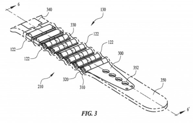 专利显示Apple Watch表带可提供隐藏式电池