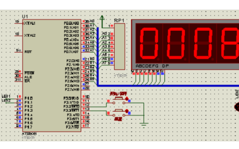 使用51单片机实现电子秒表设计的论文免费下载