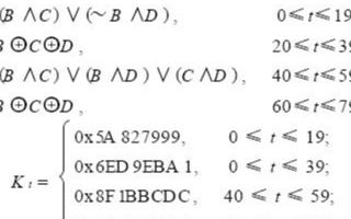 基于Verilog硬件描述语言实现SHA-1算法的设计