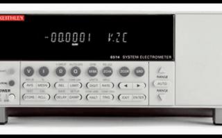 吉时利6517B静电计的功能特点及应用