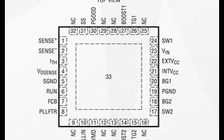 Linear DC/DC控制器LTC3780的功能及应用