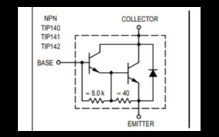 TIP145系列功率晶體管二極管的數據手冊免費下載
