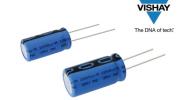 Vishay推出低阻抗、汽車級小型鋁電解電容器-190 RTL系列