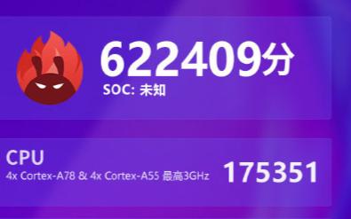 一款神秘的联发科CPU:跑分达到了622409分